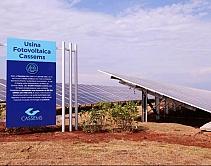 Usina de energia solar vai garantir economia de mais de R$ 220 milhões para empresa