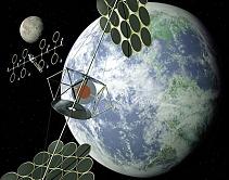 Segundo cientistas, painéis solares no espaço podem resolver a crise de energia do planeta