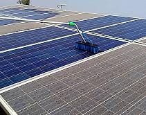 Manutenção dos painéis solares